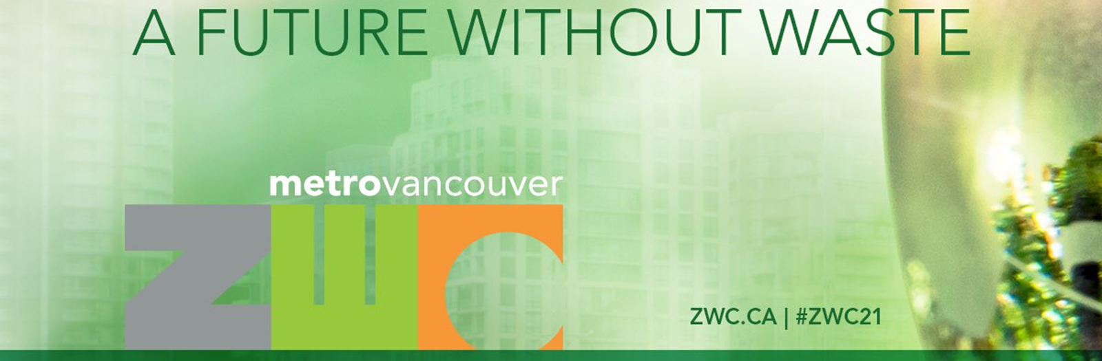 A future without waste conference banner