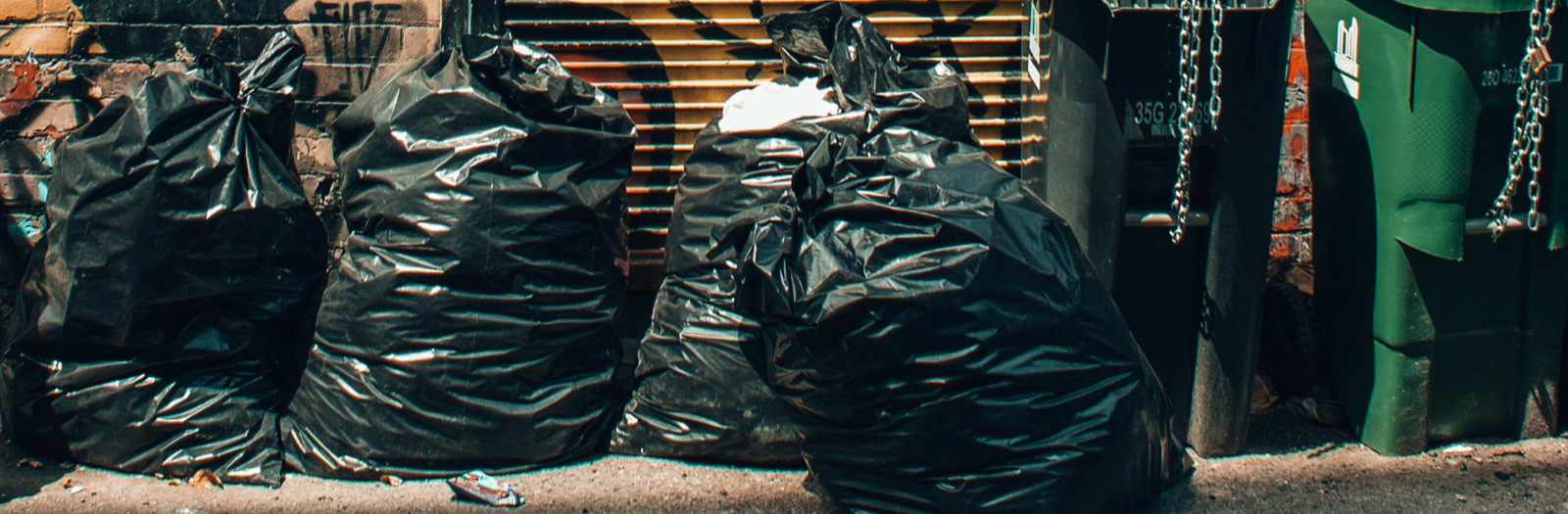 Full garbage bags