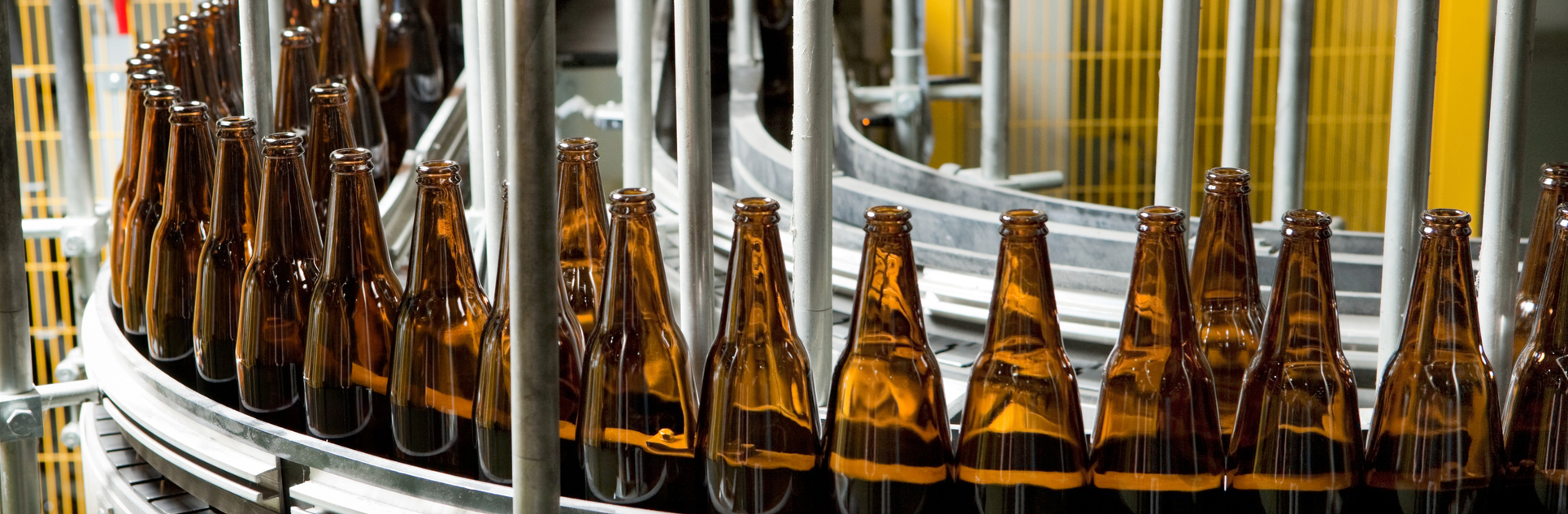 beer bottle manufacturing line