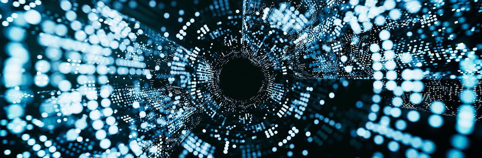 abstract image of big data