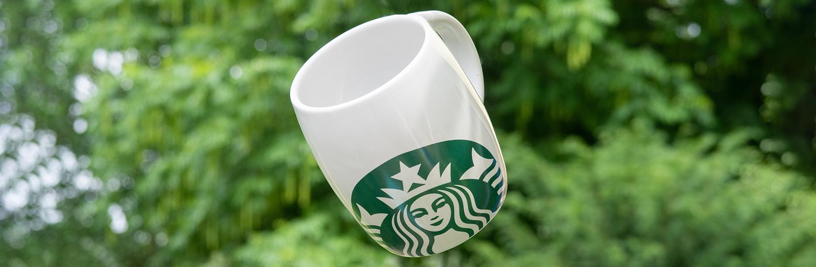 Starbucks reusable mug