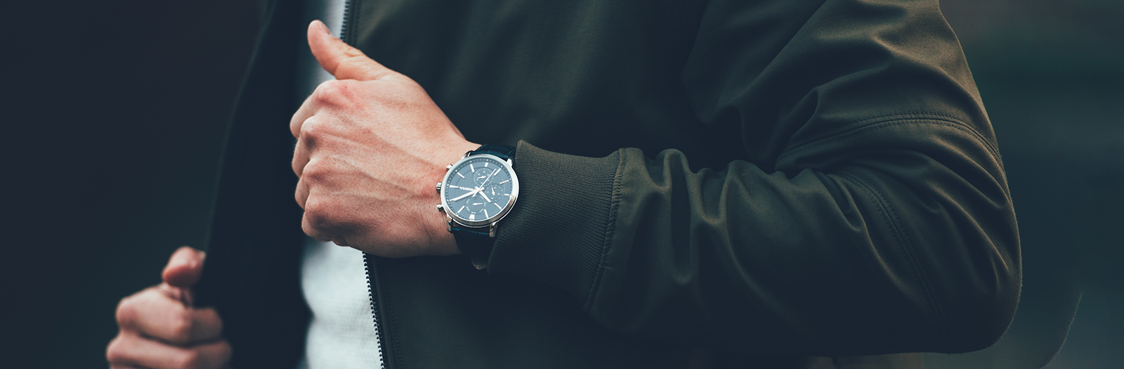 person wearing a watch