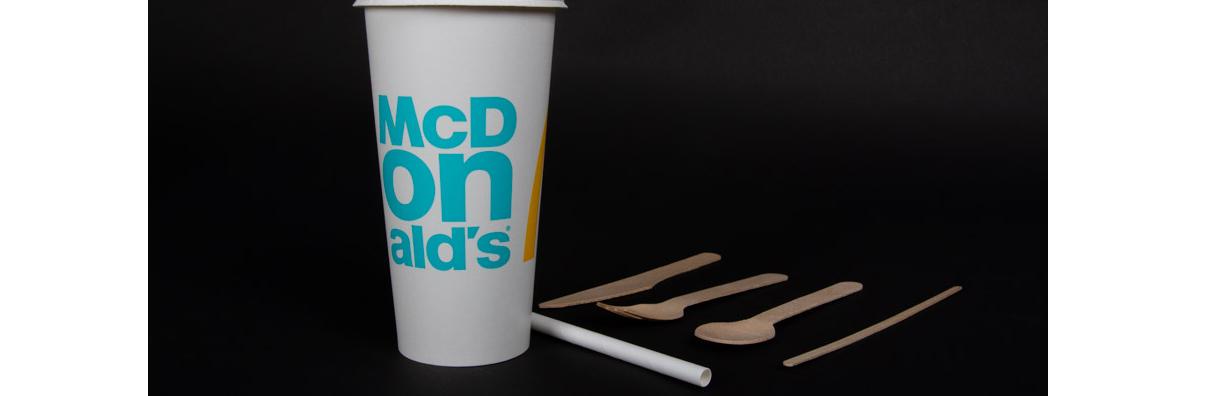 McDonalds disposable cup
