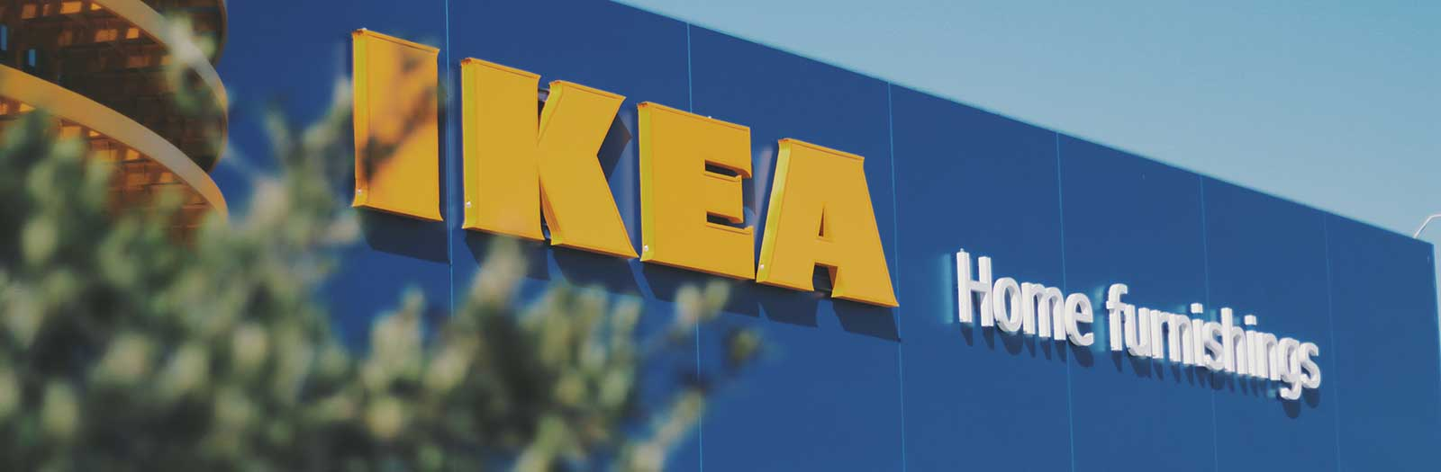 photo of exterior of IKEA store
