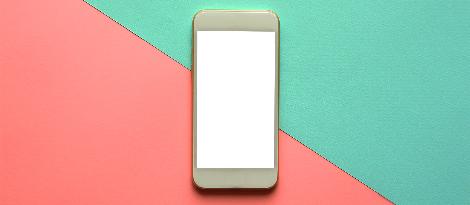 cellphone on colorful background