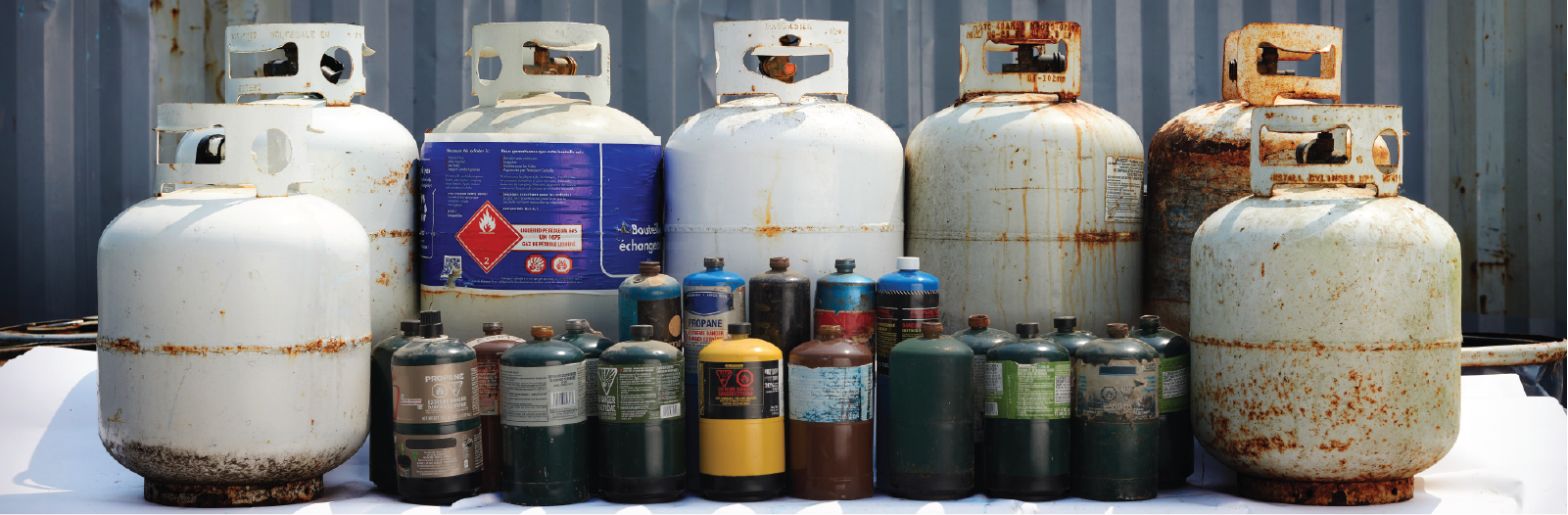 pressurized containers