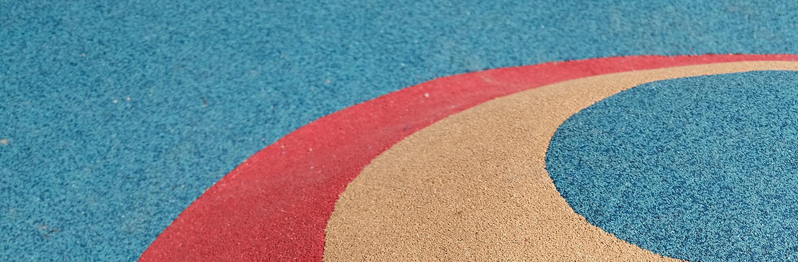 rubber playground