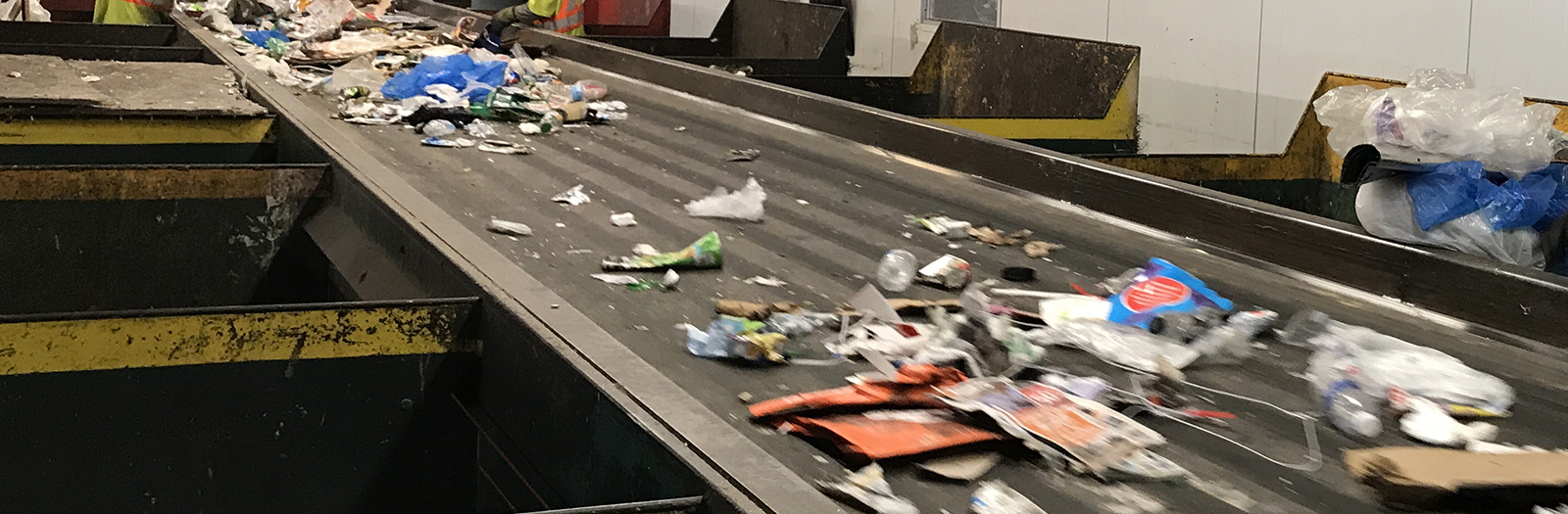 recycling sorting line
