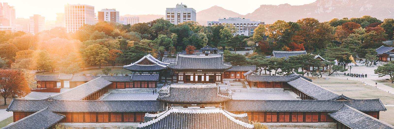 Building in South Korea
